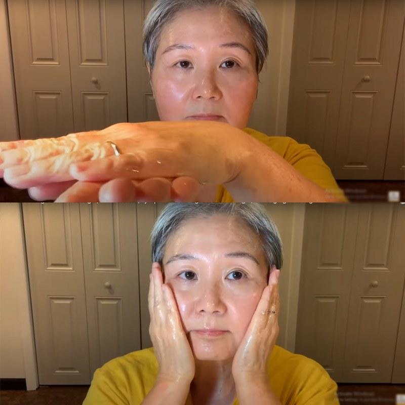 U30 chưa biết cách massage chống lão hóa da mặt, hãy để cụ bà U60 hướng dẫn - 3