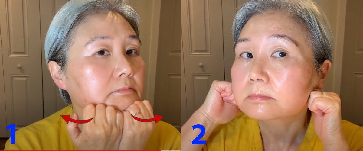 U30 chưa biết cách massage chống lão hóa da mặt, hãy để cụ bà U60 hướng dẫn - 12