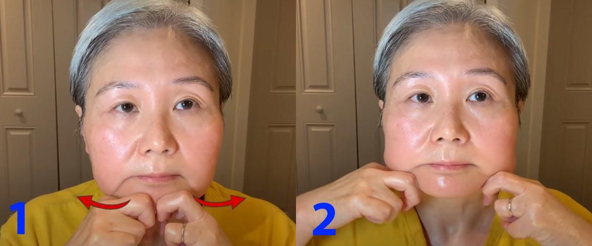 U30 chưa biết cách massage chống lão hóa da mặt, hãy để cụ bà U60 hướng dẫn - 13
