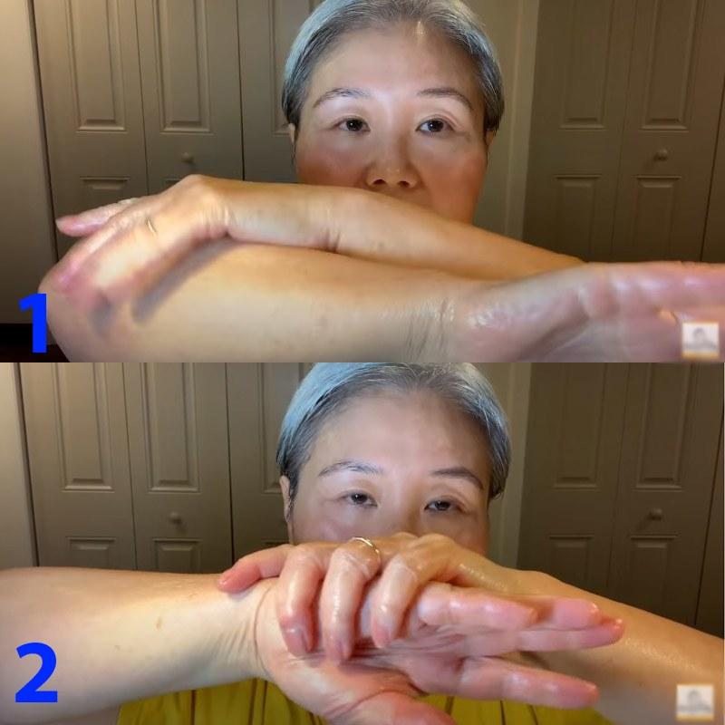 U30 chưa biết cách massage chống lão hóa da mặt, hãy để cụ bà U60 hướng dẫn - 14