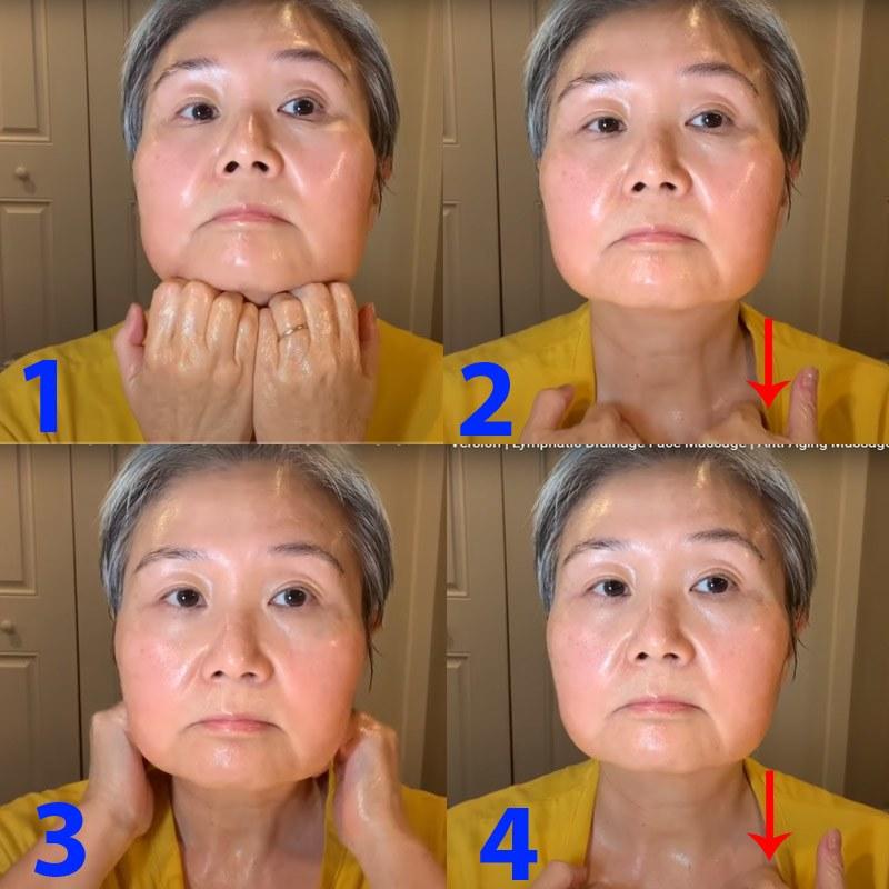 U30 chưa biết cách massage chống lão hóa da mặt, hãy để cụ bà U60 hướng dẫn - 4