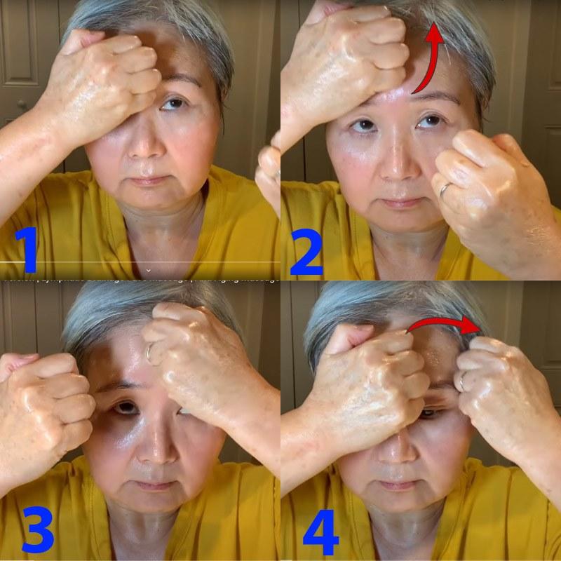 U30 chưa biết cách massage chống lão hóa da mặt, hãy để cụ bà U60 hướng dẫn - 5