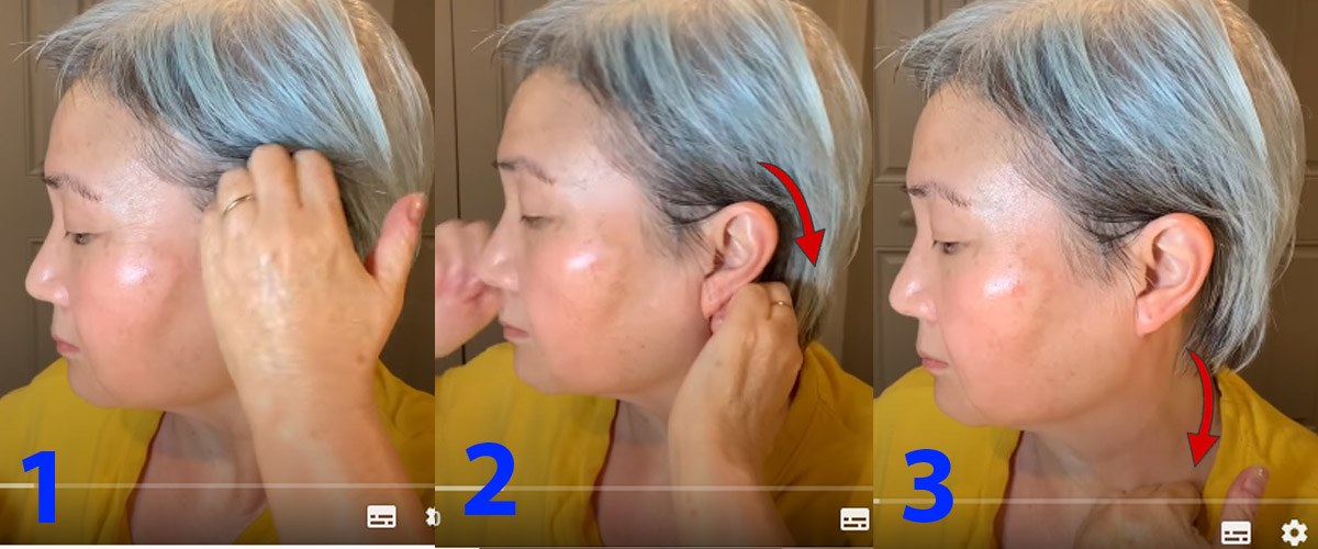 U30 chưa biết cách massage chống lão hóa da mặt, hãy để cụ bà U60 hướng dẫn - 6