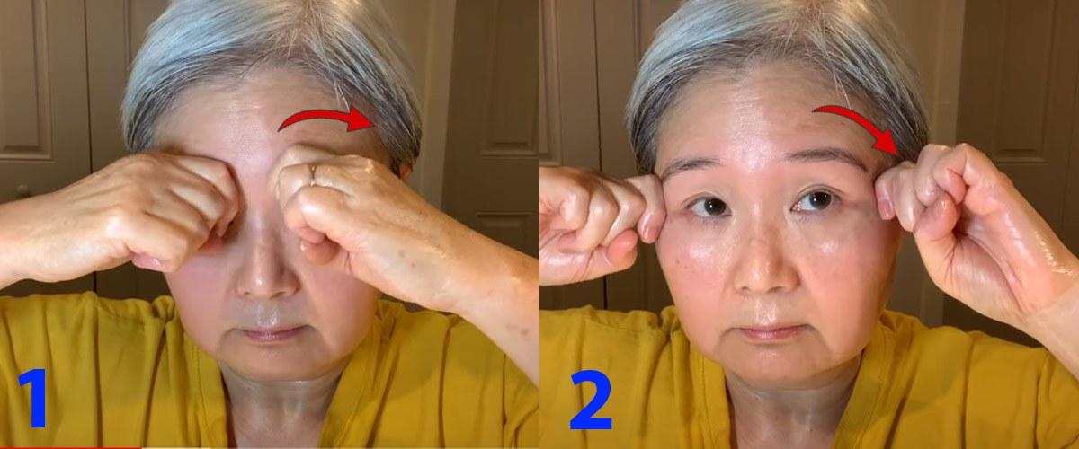U30 chưa biết cách massage chống lão hóa da mặt, hãy để cụ bà U60 hướng dẫn - 8