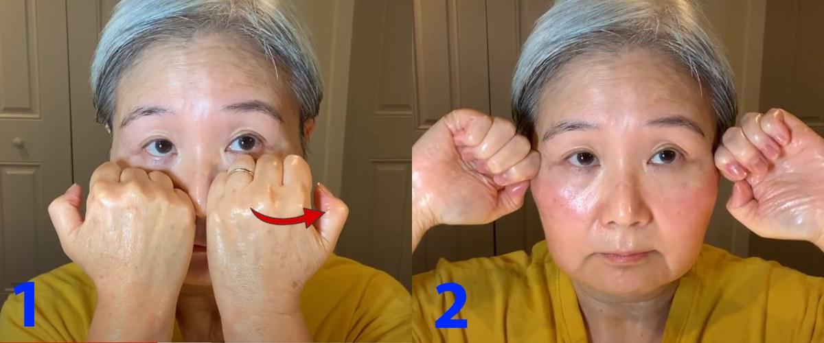 U30 chưa biết cách massage chống lão hóa da mặt, hãy để cụ bà U60 hướng dẫn - 9