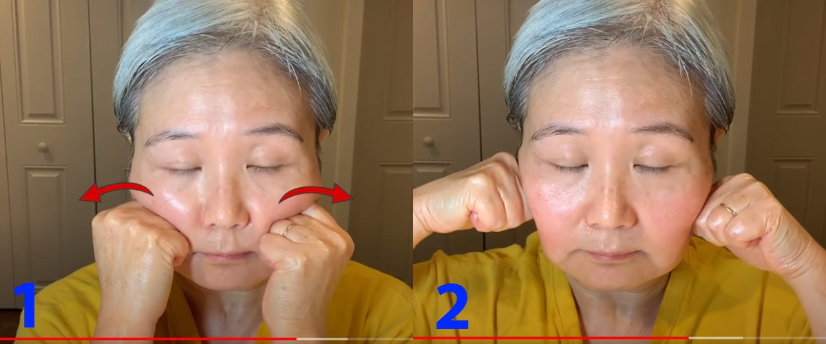 U30 chưa biết cách massage chống lão hóa da mặt, hãy để cụ bà U60 hướng dẫn - 11
