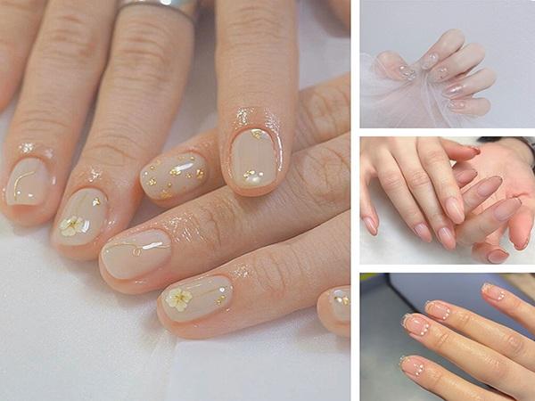 Những mẫu nail cô dâu xinh đẹp giúp bạn trở nên lung linh hơn trong ngày cưới - 3