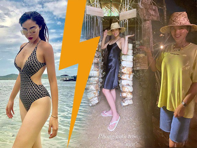 Chẳng bốc lửa diện bikini hay váy lộng lẫy, Kỳ Duyên đi nghỉ dưỡng mặc đồ như du lịch bụi
