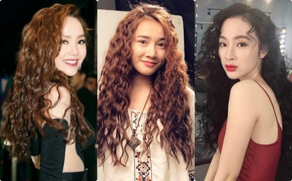 15 kiểu tóc xù đẹp cho nữ thêm dễ thương cá tính được yêu thích nhất - 14