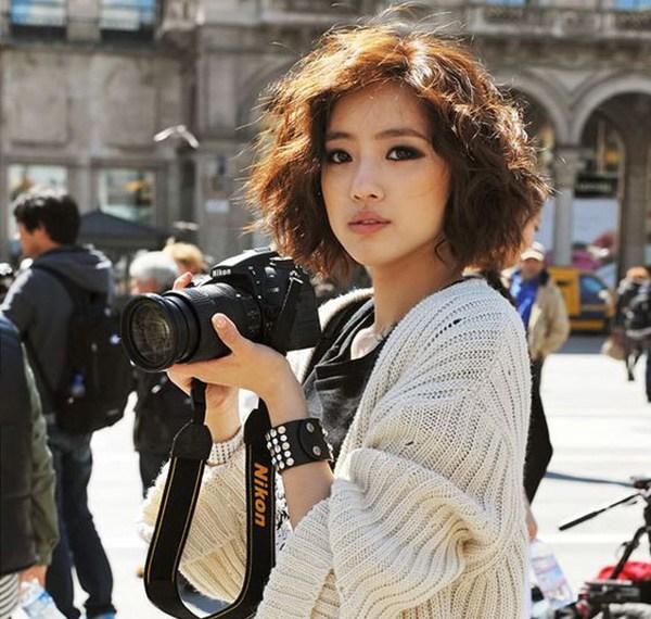 15 kiểu tóc xù đẹp cho nữ thêm dễ thương cá tính được yêu thích nhất - 3