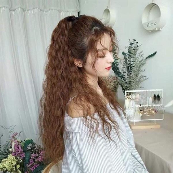 15 kiểu tóc xù đẹp cho nữ thêm dễ thương cá tính được yêu thích nhất - 8