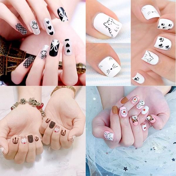 Các mẫu nail đơn giản đẹp nhẹ nhàng sang trọng cá tính và dễ thương - 1