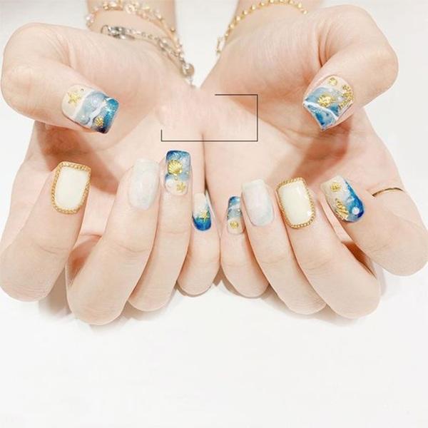 Các mẫu nail đơn giản đẹp nhẹ nhàng sang trọng cá tính và dễ thương - 11