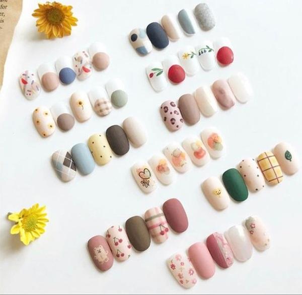 Các mẫu nail đơn giản đẹp nhẹ nhàng sang trọng cá tính và dễ thương - 13