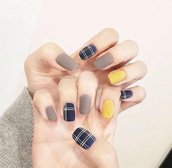 Các mẫu nail đơn giản đẹp nhẹ nhàng sang trọng cá tính và dễ thương - 15