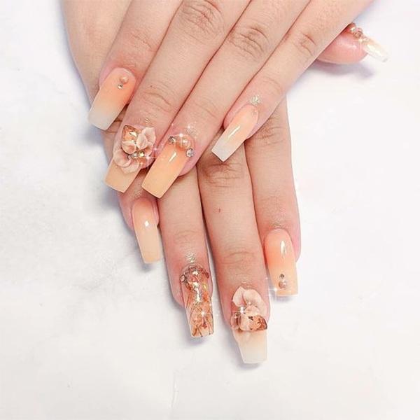 Các mẫu nail đơn giản đẹp nhẹ nhàng sang trọng cá tính và dễ thương - 3