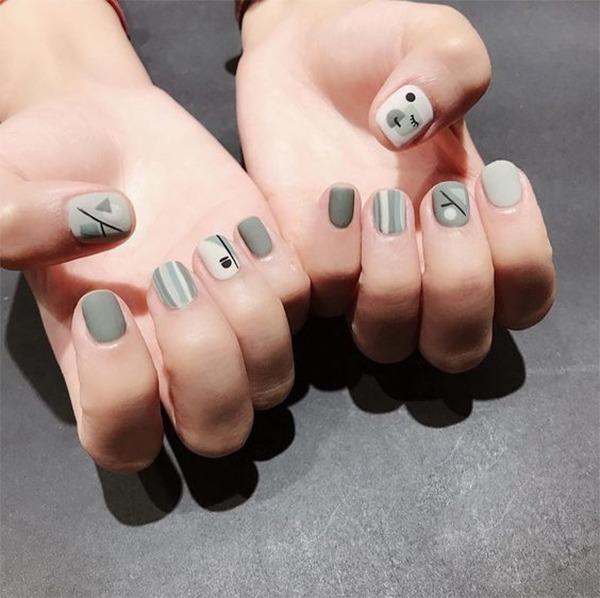 Các mẫu nail đơn giản đẹp nhẹ nhàng sang trọng cá tính và dễ thương - 7