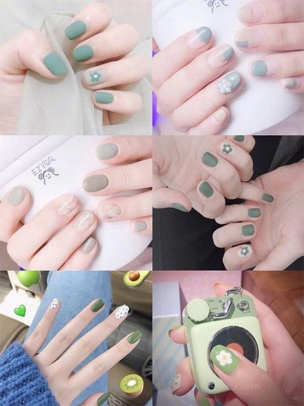Các mẫu nail đơn giản đẹp nhẹ nhàng sang trọng cá tính và dễ thương - 10
