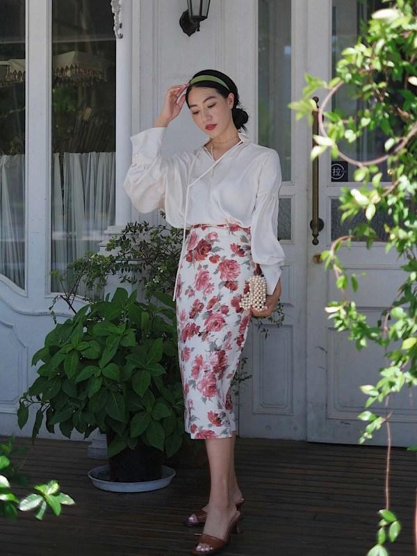 Học cách phối đồ với chân váy lửng từ sao Việt, nàng có ngay vẻ ngoài thanh lịch ngày thu - 13