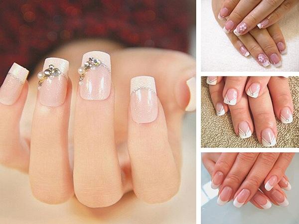 Những mẫu nail cô dâu xinh đẹp giúp bạn trở nên lung linh hơn trong ngày cưới - 4