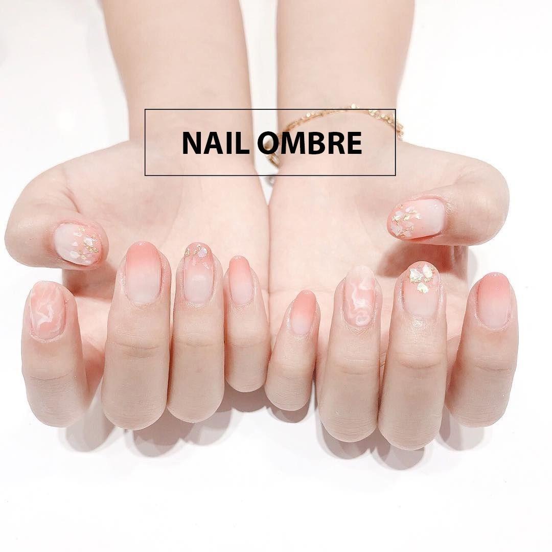 Những mẫu nail ombre đẹp trẻ trung được yêu thích nhất hiện nay - 1