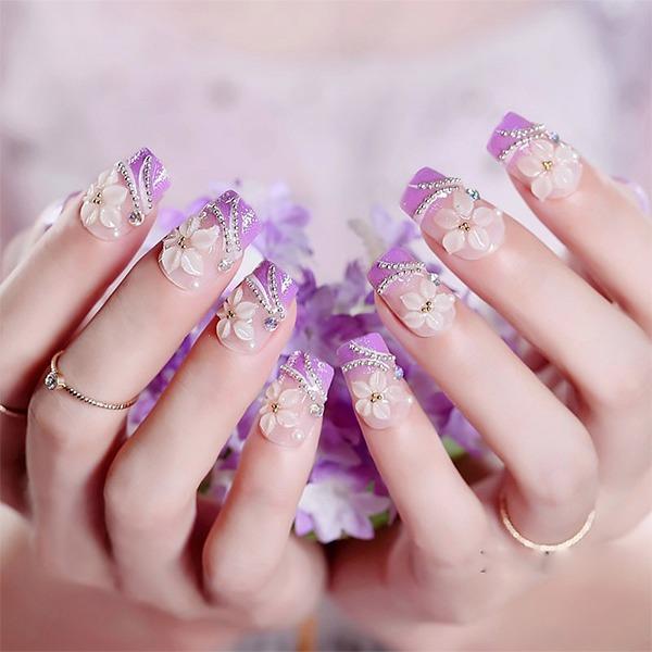 Những mẫu nail ombre đẹp trẻ trung được yêu thích nhất hiện nay - 8
