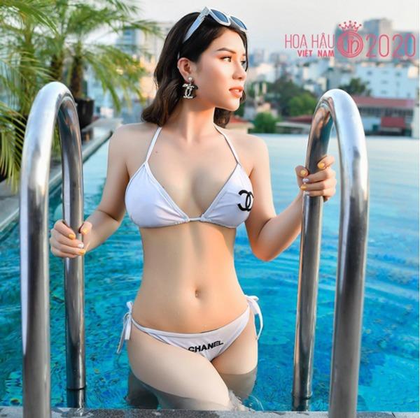 Hoa hậu Việt Nam 2020: Xuất hiện nữ tổng tài bên ngoài xinh đẹp bên trong nhiều tiền - 3