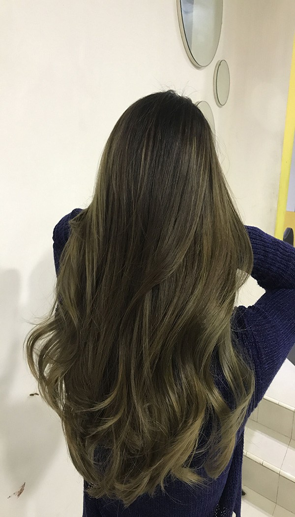 Những màu tóc rêu vàng giúp ăn gian tuổi đỉnh cao dịp cuối năm 2020 - 9