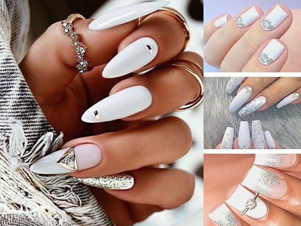 Những mẫu nail cô dâu xinh đẹp giúp bạn trở nên lung linh hơn trong ngày cưới - 6