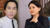 """Vợ ba kém 11 tuổi của Kim Tử Long bị nhắn tin nặc danh chửi """"giật chồng"""", """"đào mỏ"""""""