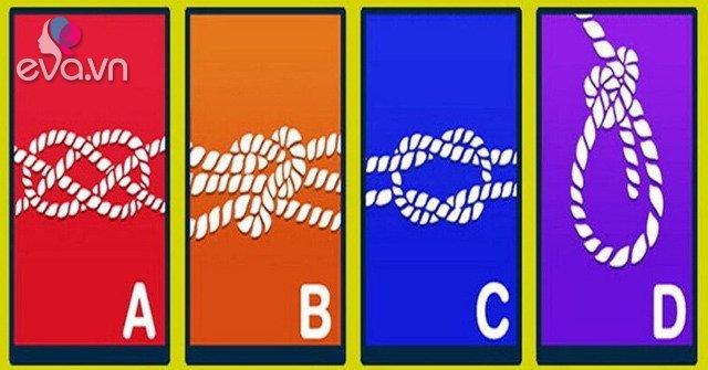 Theo bạn, cách thắt nút dây thừng nào là chặt nhất?