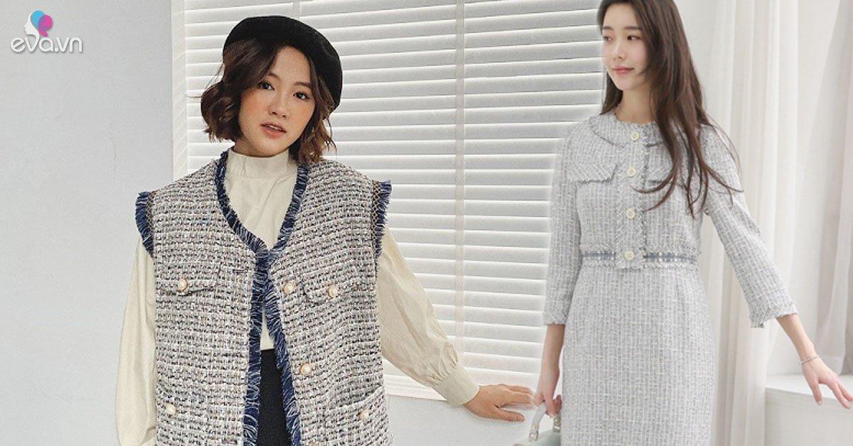 Thời tiết chuyển lạnh, đây là những trang phục vải tweed đáng sắm để chị em thêm phần thời thượng