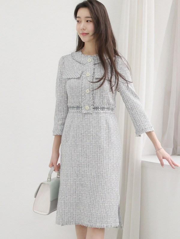 Thời tiết chuyển lạnh, đây là những trang phục vải tweed đáng sắm để chị em thêm phần thời thượng - 12