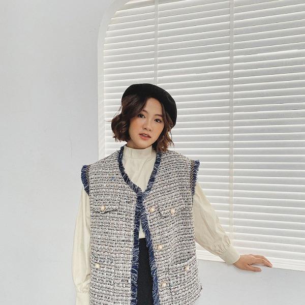 Thời tiết chuyển lạnh, đây là những trang phục vải tweed đáng sắm để chị em thêm phần thời thượng - 1