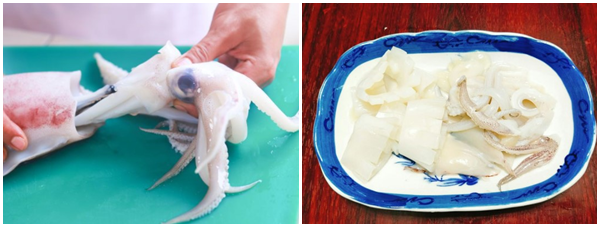 cách làm mực xào dứa thơm ngon giòn sần sật không bị tanh cực đơn giản