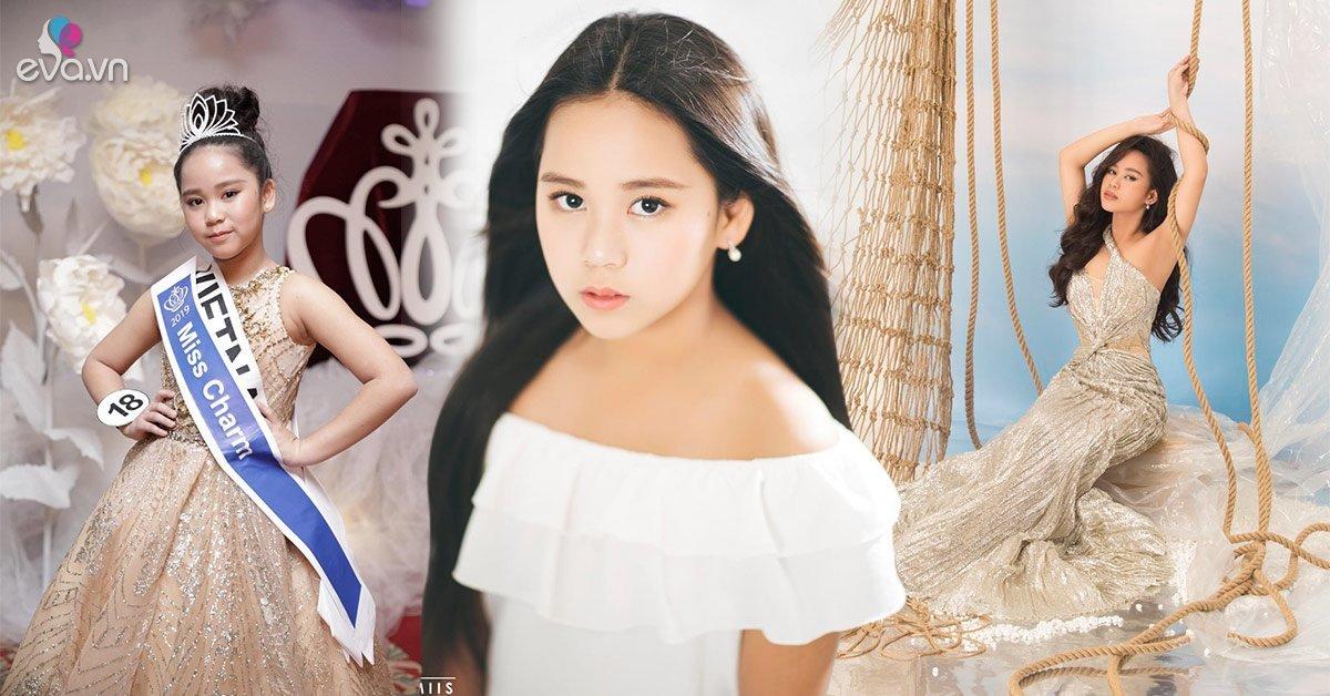 Đi ngang cái am mẹ Việt vào xin, đẻ con gái Hoa hậu nổi khắp thế giới 12 tuổi 1m62