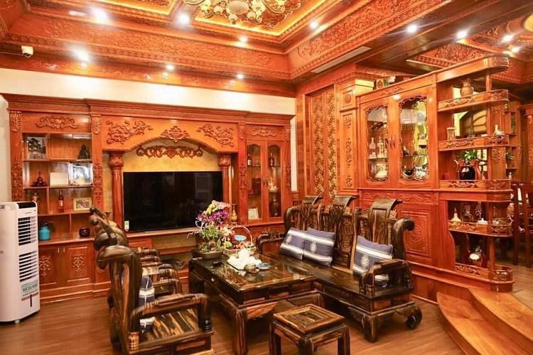 """Bí ẩn chủ nhân căn biệt thự phủ gỗ """"từ đầu tới chân"""" ở Hà Nội gây xôn xao - 3"""