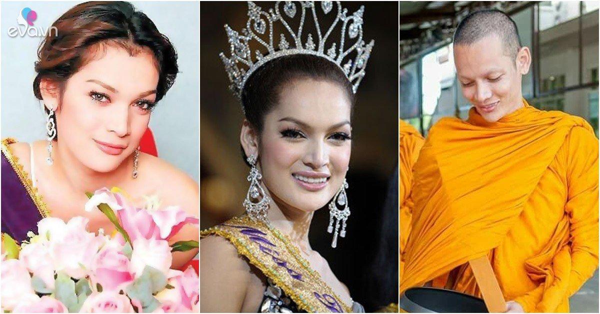HH Chuyển giới Thái Lan: Ngã khụy khi đăng quang, sau 3 năm đi tu hóa ra là đàn ông