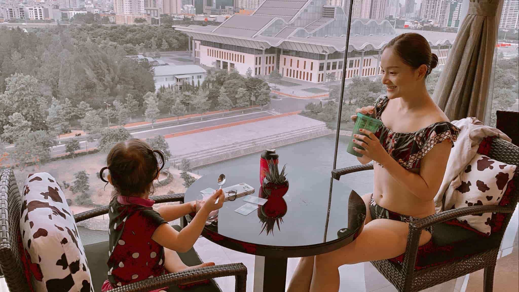 Từng tăng 18kg khi mang bầu, Lan Phương giờ về dáng đẹp mê, đụng đầm với Hoa hậu không thua - 5