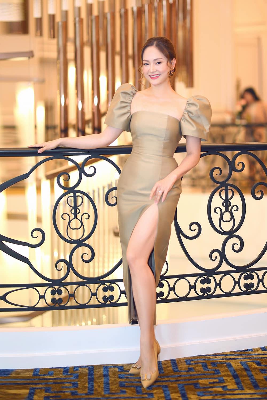Từng tăng 18kg khi mang bầu, Lan Phương giờ về dáng đẹp mê, đụng đầm với Hoa hậu không thua - 4