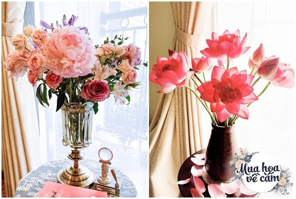 Cắm hoa tươi sợ nhanh héo, cô giáo Hà Nội mách chỗ đặt bình chơi được 2 tuần - 9