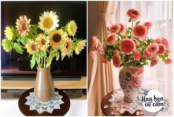 Cắm hoa tươi sợ nhanh héo, cô giáo Hà Nội mách chỗ đặt bình chơi được 2 tuần - 18