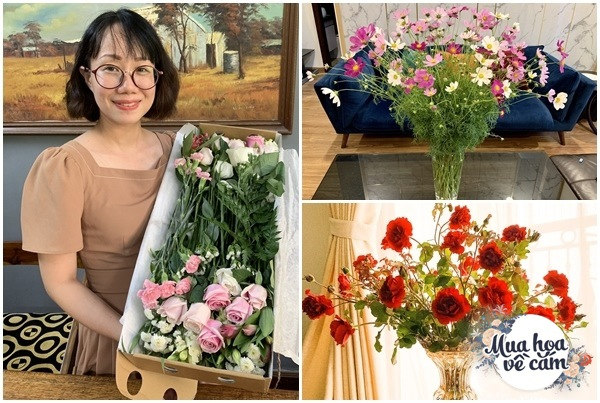 Cắm hoa tươi sợ nhanh héo, cô giáo Hà Nội mách chỗ đặt bình chơi được 2 tuần - 4