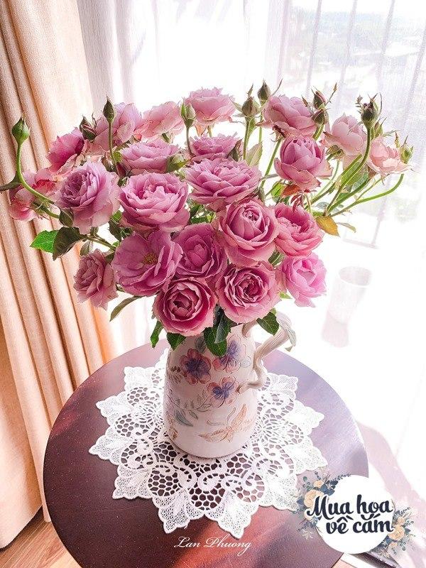 Cắm hoa tươi sợ nhanh héo, cô giáo Hà Nội mách chỗ đặt bình chơi được 2 tuần - 5