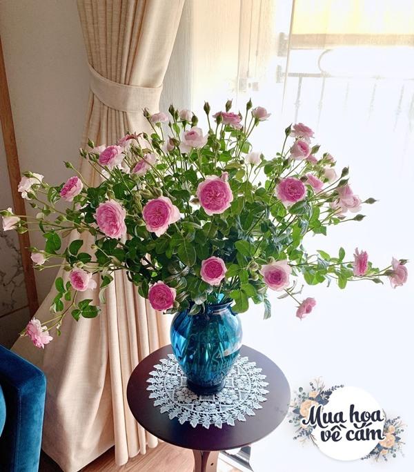 Cắm hoa tươi sợ nhanh héo, cô giáo Hà Nội mách chỗ đặt bình chơi được 2 tuần - 17