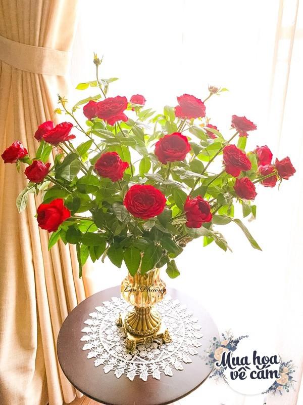 Cắm hoa tươi sợ nhanh héo, cô giáo Hà Nội mách chỗ đặt bình chơi được 2 tuần - 27