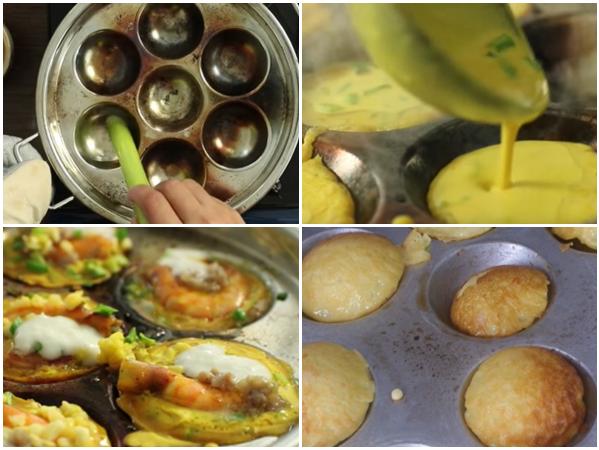 Cách làm bánh khọt ngon từ bí quyết pha bột và đổ bánh đơn giản nhất - 10