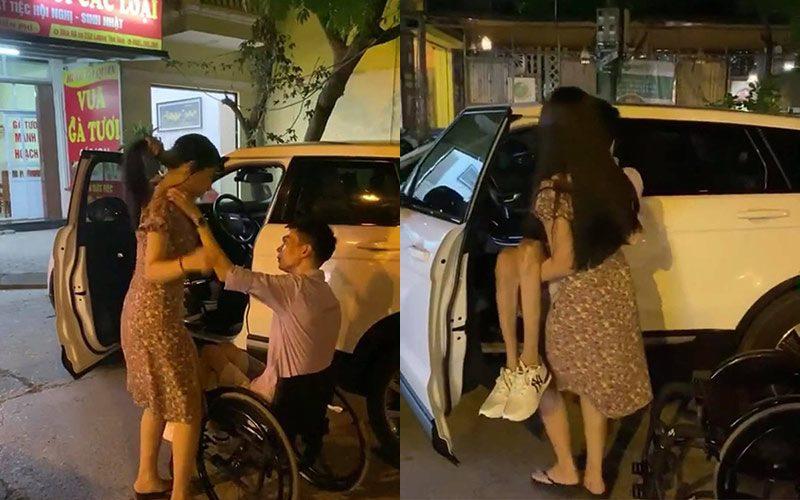 Ly hôn một mình nuôi con, anh xe lăn đơn thân được hotgirl bế lên ôtô 3 tỷ mỗi ngày - 4