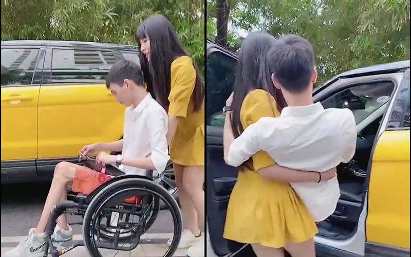 Ly hôn một mình nuôi con, anh xe lăn đơn thân được hotgirl bế lên ôtô 3 tỷ mỗi ngày - 6
