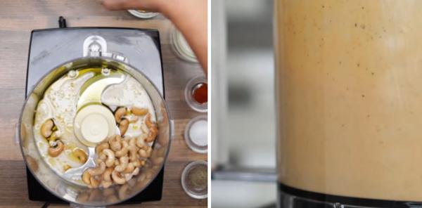 Cách làm mì ý sốt kem nấm chay